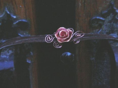 Burnt Rose Choker, finished by JuxtaposeGraphics