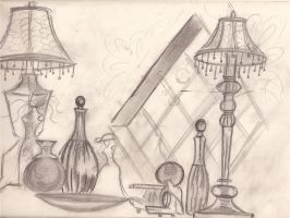 Lamp study by Lorredelious