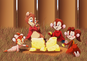 Spending Time with Brisby by WhiteLionWarrior