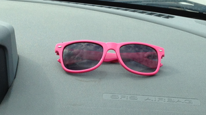 Pink Sunglasses by Sugerpie56