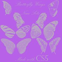 Butterfly Wings Brushes by BohemianResources
