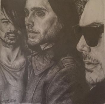 30 Seconds to Mars  by artbymnm