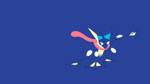 Greninja by PokeTrainerManro