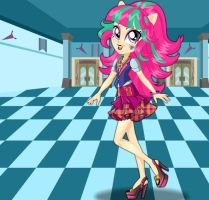 Friendship Games Sour Sweet School Spirit Style by kimpossiblelove