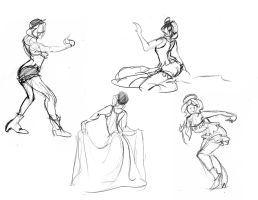 Figure Drawing Book Semester 2 page 5 by 24movements