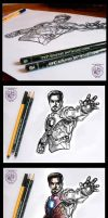 THE AVENGERS IRONMAN - THE MAKING by yogeshron