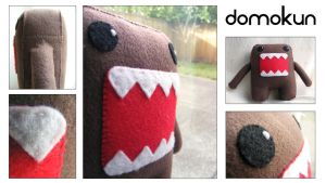 Domo-Kun Felt Plush by Kuvu