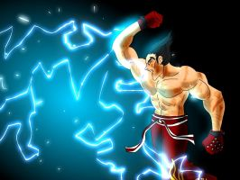 Electric Wind God Fist by conquerorsaint