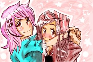 BFFL: Akio And Shika by Bippie