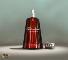 3d parfume model by AndexDesign