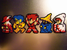 Final Fantasy Magnet Set by AprilMoonshine