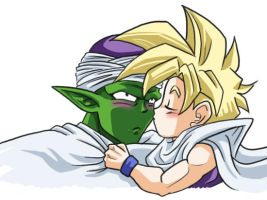 I Love You Mr. Piccolo by house-mouse