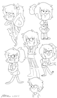 .:OC:. Different Chloes by Dreamilicious