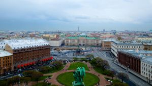 St. Petersburg in spring by Rogue-alien