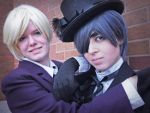 Black Butler - The Young Masters by ember-ablaze