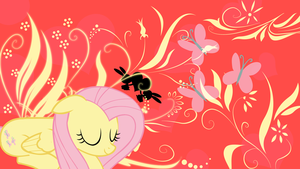 Fluttershy Wallpaper 1920x1080 by AncientKale