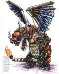 Steam-Powered Pokemon: Charizard by jbrenthill
