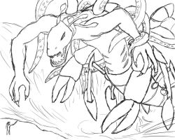 Monster Sketch by Soldiers-of-Legacy