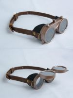 Steampunk Goggles by jezus666
