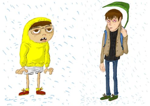 rainy day by caracolescente