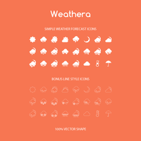 Freebie - Simple Weather Icons by GraphBerry