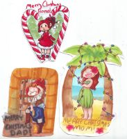 Chirstmas Cards by WhateverCat