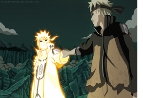Naruto And Minato - Father And Son by Ric9Duran