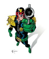 Judge Dredd by TXcrew