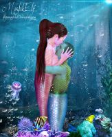 Underwater Love by MariaBeloArt