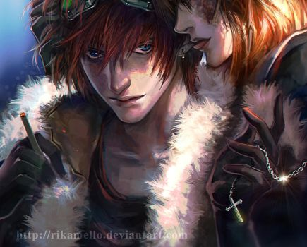 death note Matt mello :give in to me by RikaMello