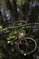 Abandoned Bike by Engazung
