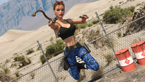 Classic Raider 27 by tombraider4ever