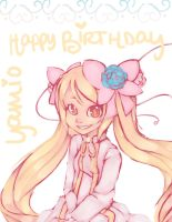 Happy Birthday, Yamio by licoriceskittles