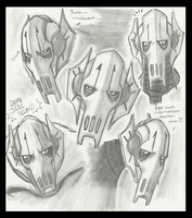 Grievous expression chart by PurpleRAGE9205