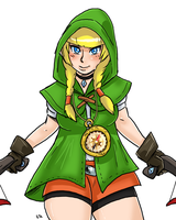 Zelda - Linkle 01 by theEyZmaster