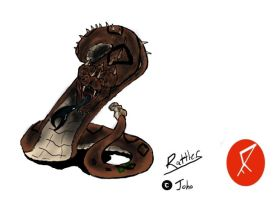 Go G: Rattler by Vagrant-Verse