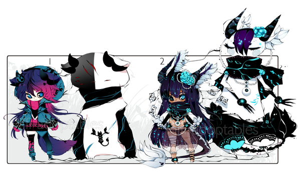 [CLOSED] ADOPT AUCTION 177 - Shadowmonster by Piffi-adoptables