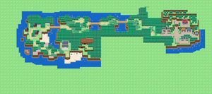 First Island Map by Rossay