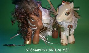 Steampony Bridal Set by dannabats