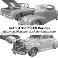 Hot Rod Photoshop Brushes by ModifiedCars-stock