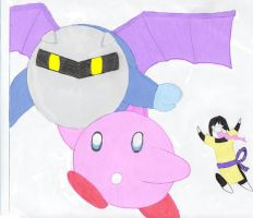 Orochi likes Meta and Kirby by northernlight33
