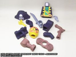 papercraft LEGO pirate parts 1 by ninjatoespapercraft