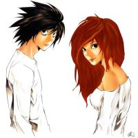 Me and L! by Aetessa-b