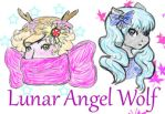 Lunar Angel Wolf by LunarAngelWolf