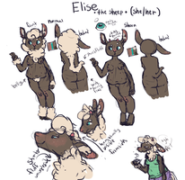 Elise New Ref by weepysheep