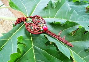 Wire work Key Pendant by mariachughtai