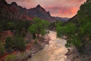 Sunset and the Watchman by Nate-Zeman