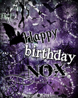 Happy Birthday Nox! by HarleKlown
