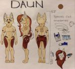 Reference For Daun by thefluffycarnivore