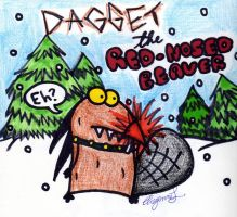 DAGGET THE RED NOSED BEAVER FTW by ZIMSULTIMATELUVA